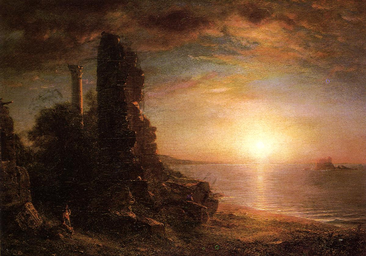 Landscape in Greece 1873 | Frederic Edwin Church | Oil Painting