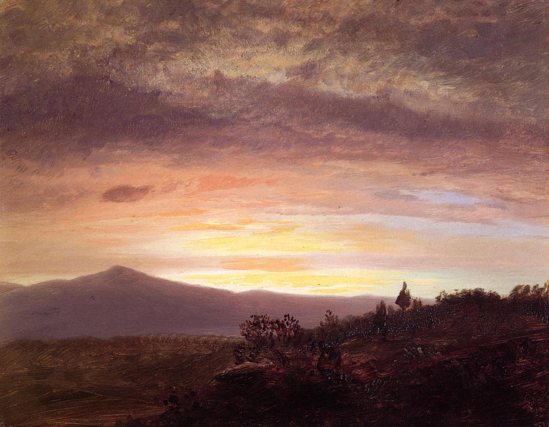 Mount Ktaadn 1858-1860 | Frederic Edwin Church | Oil Painting