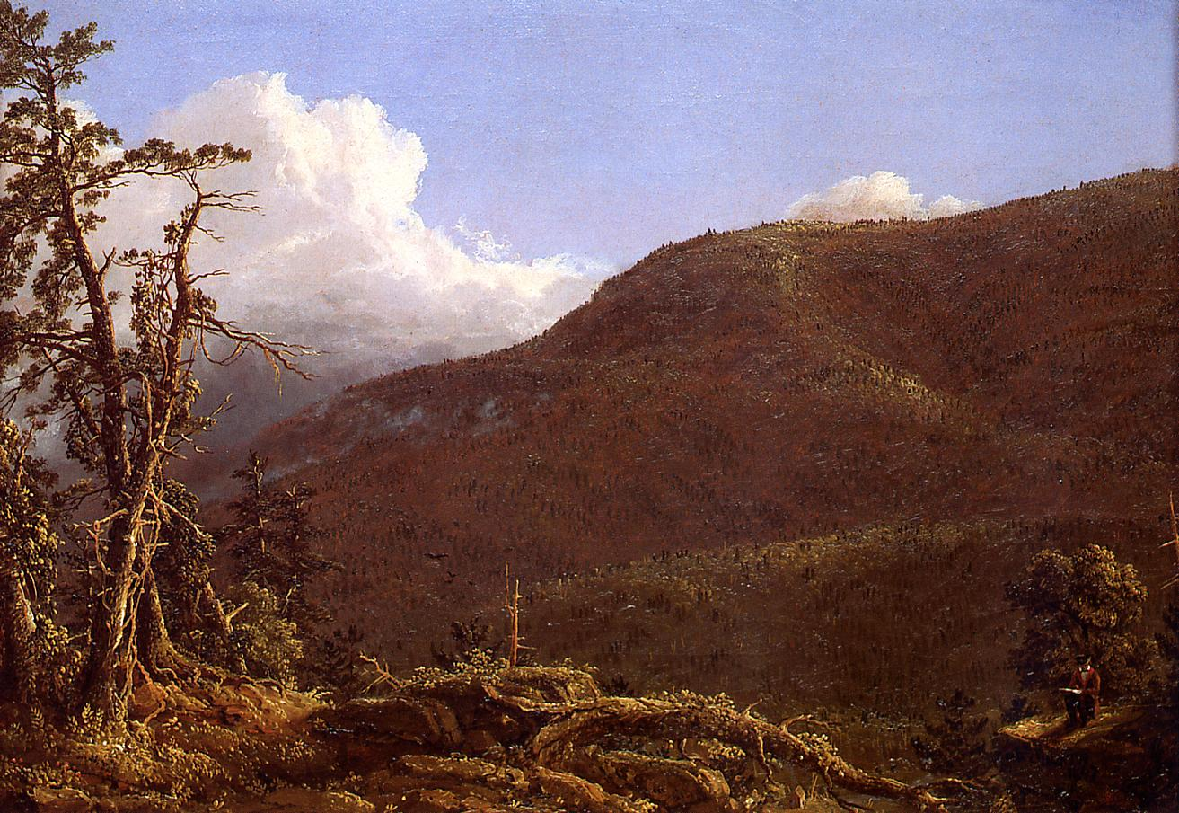 New England Landscape 1847 | Frederic Edwin Church | Oil Painting