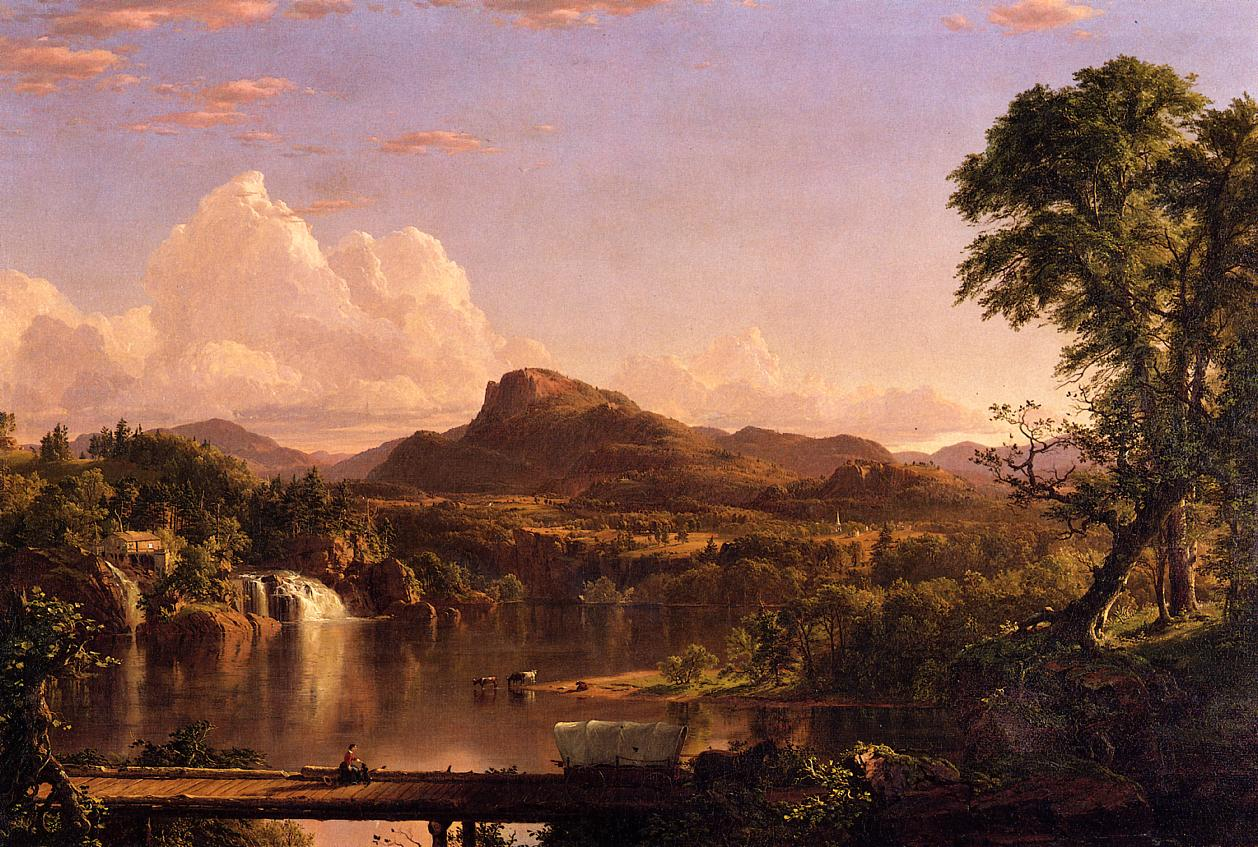 New England Scenery 1851 | Frederic Edwin Church | Oil Painting