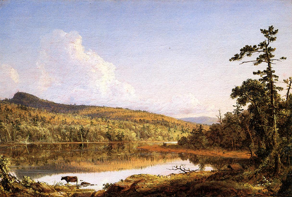 North Lake 1847 | Frederic Edwin Church | Oil Painting