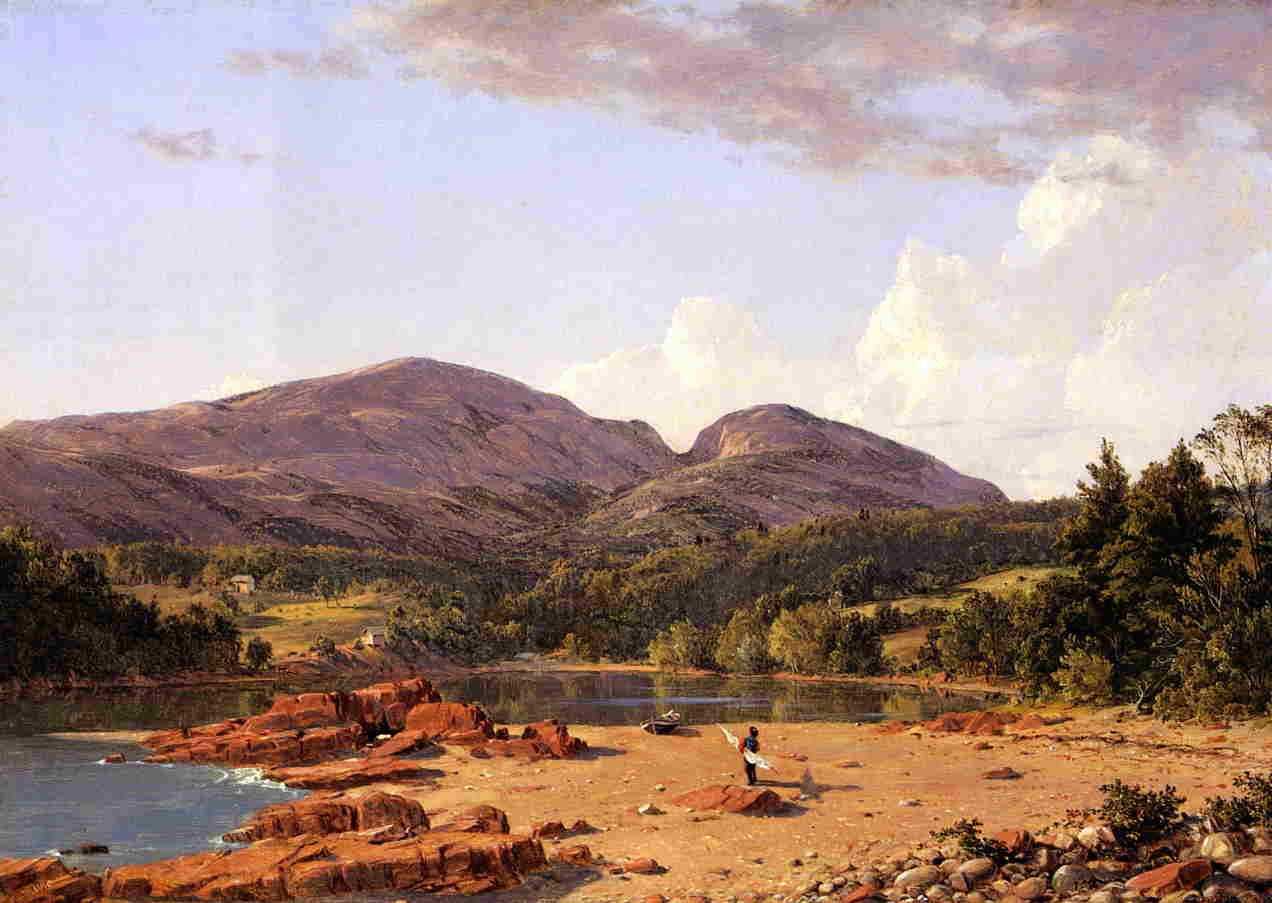 Otter Creek Mount Desert 1850 | Frederic Edwin Church | Oil Painting