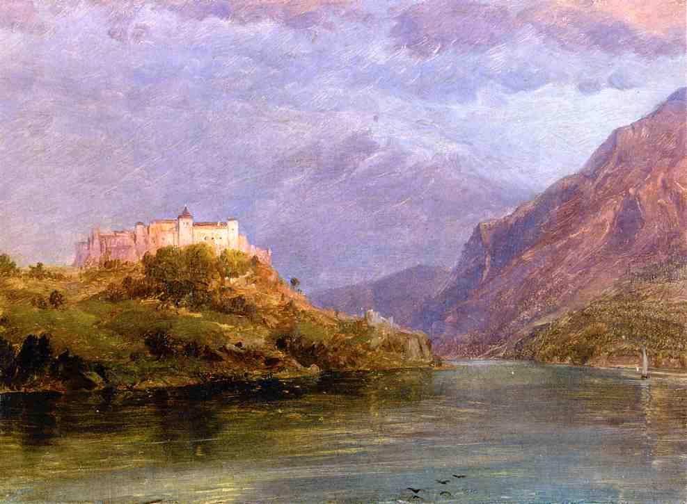 Salzburg Castle 1868-1869 | Frederic Edwin Church | Oil Painting