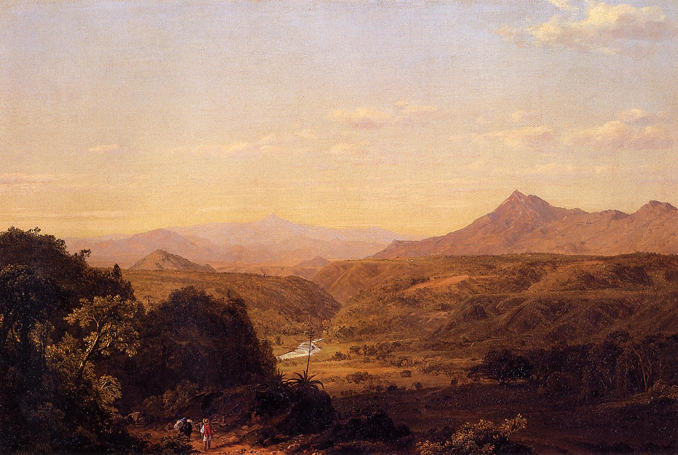 Scene among the Andes 1854 | Frederic Edwin Church | Oil Painting