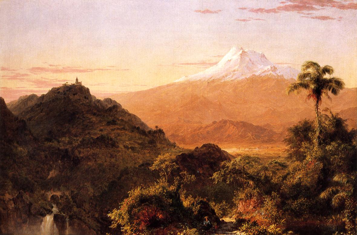 South American Landscape 1856 | Frederic Edwin Church | Oil Painting
