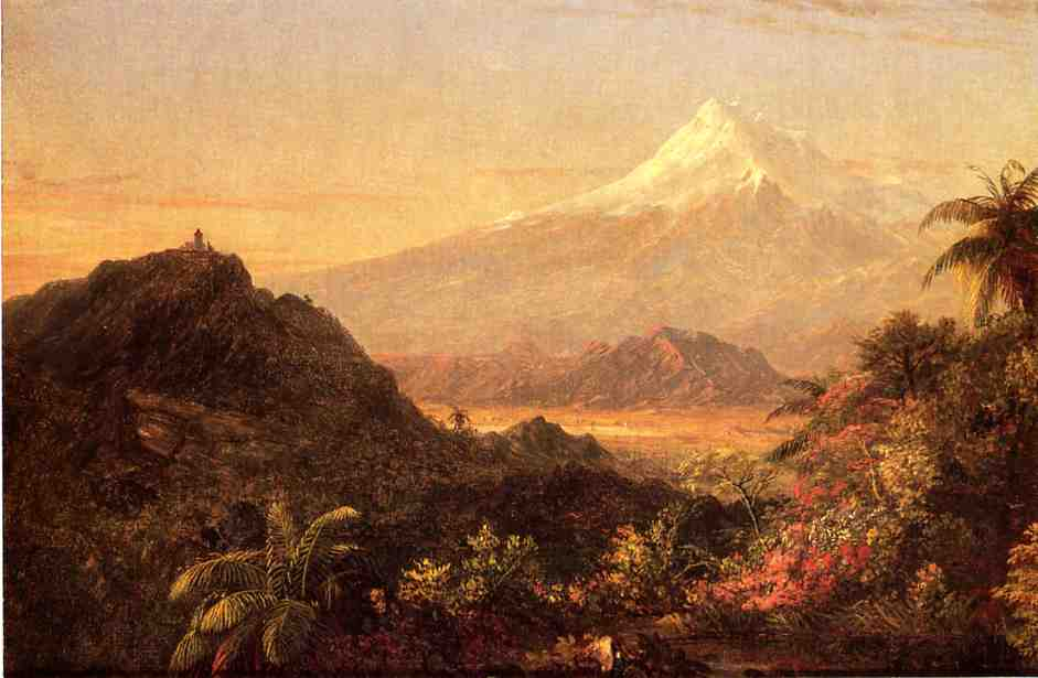South American Landscape 1856-1857 | Frederic Edwin Church | Oil Painting