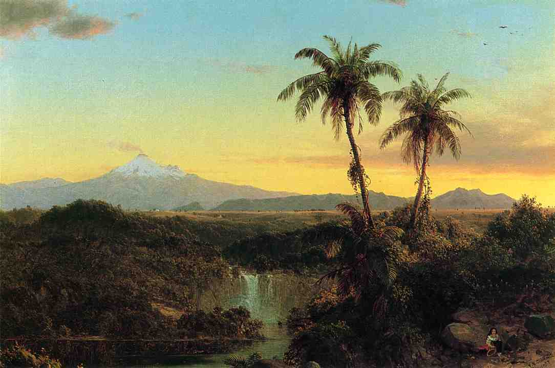 South American Landscape 1857 | Frederic Edwin Church | Oil Painting