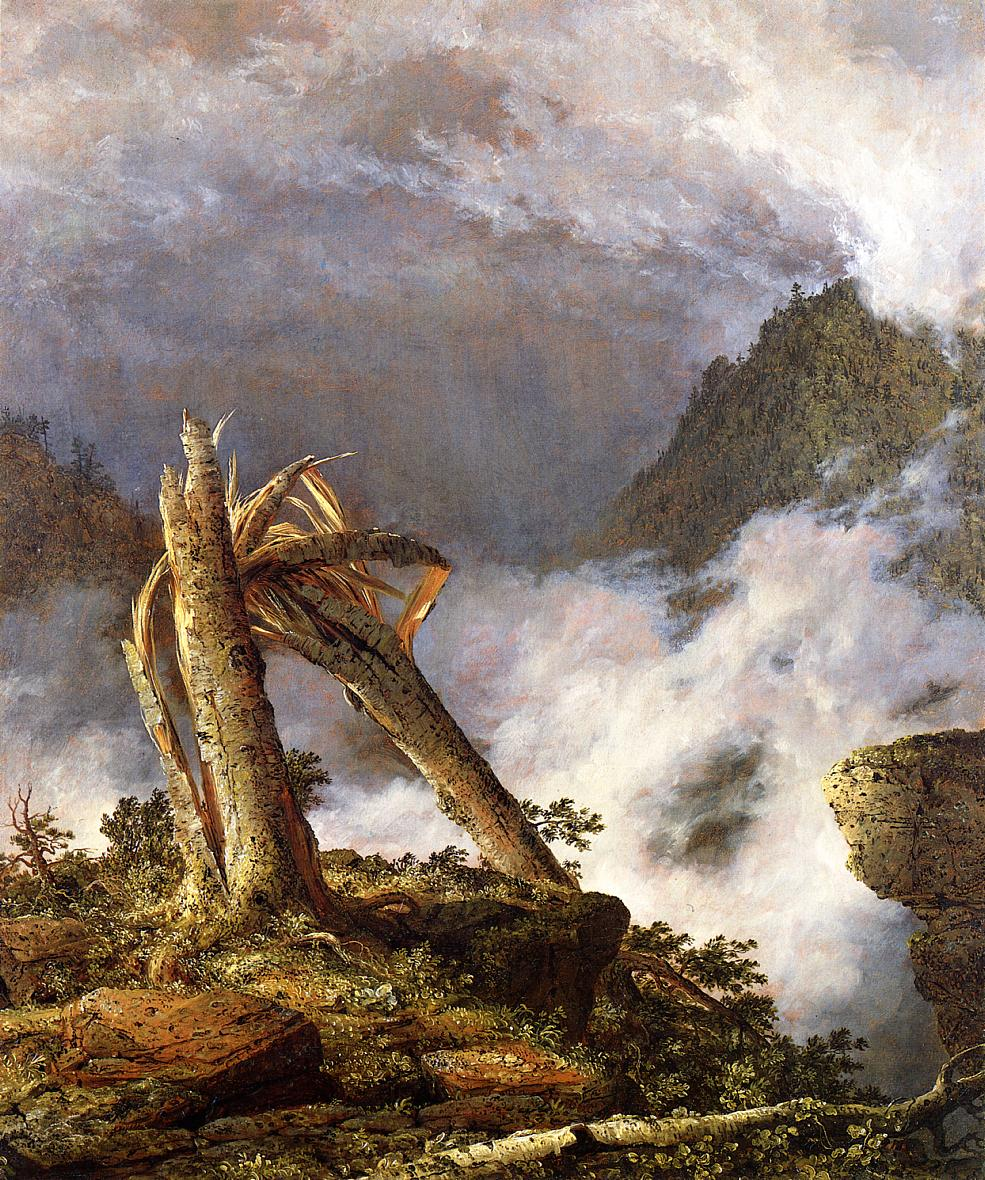 Storm in the Mountains 1847 | Frederic Edwin Church | Oil Painting