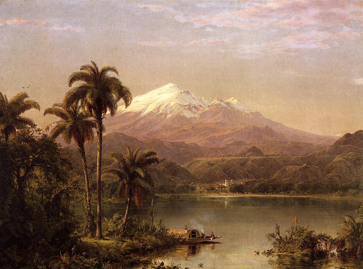 Tamaca Palms 1854 | Frederic Edwin Church | Oil Painting