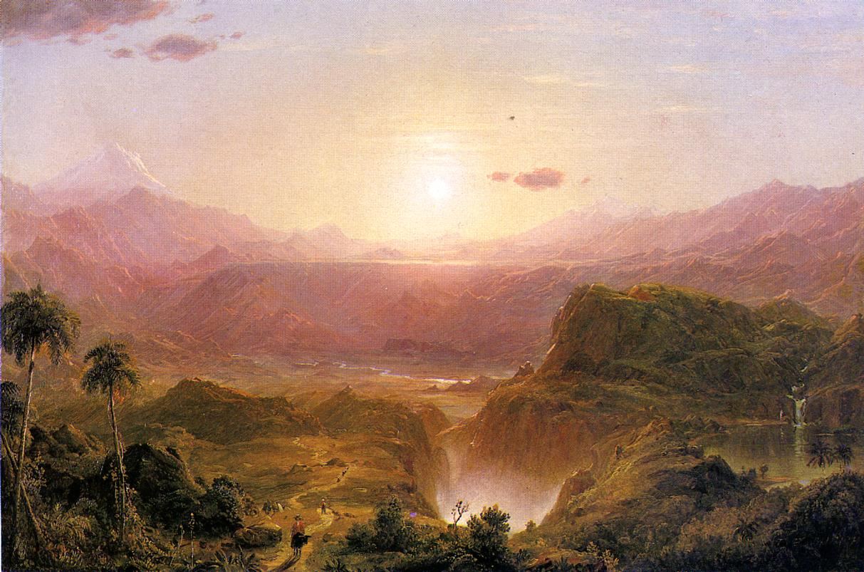 The Andes of Ecuador 1876 | Frederic Edwin Church | Oil Painting