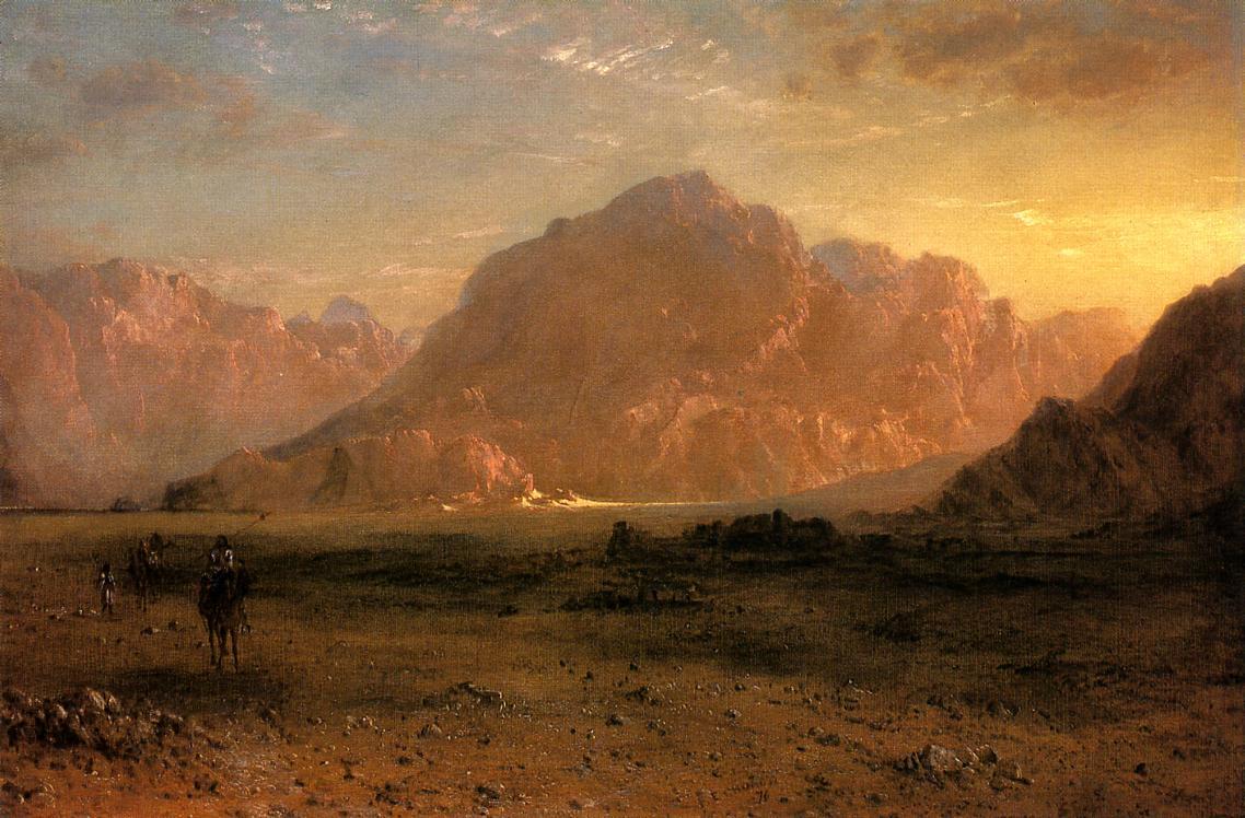 The Arabian Desert 1870 | Frederic Edwin Church | Oil Painting