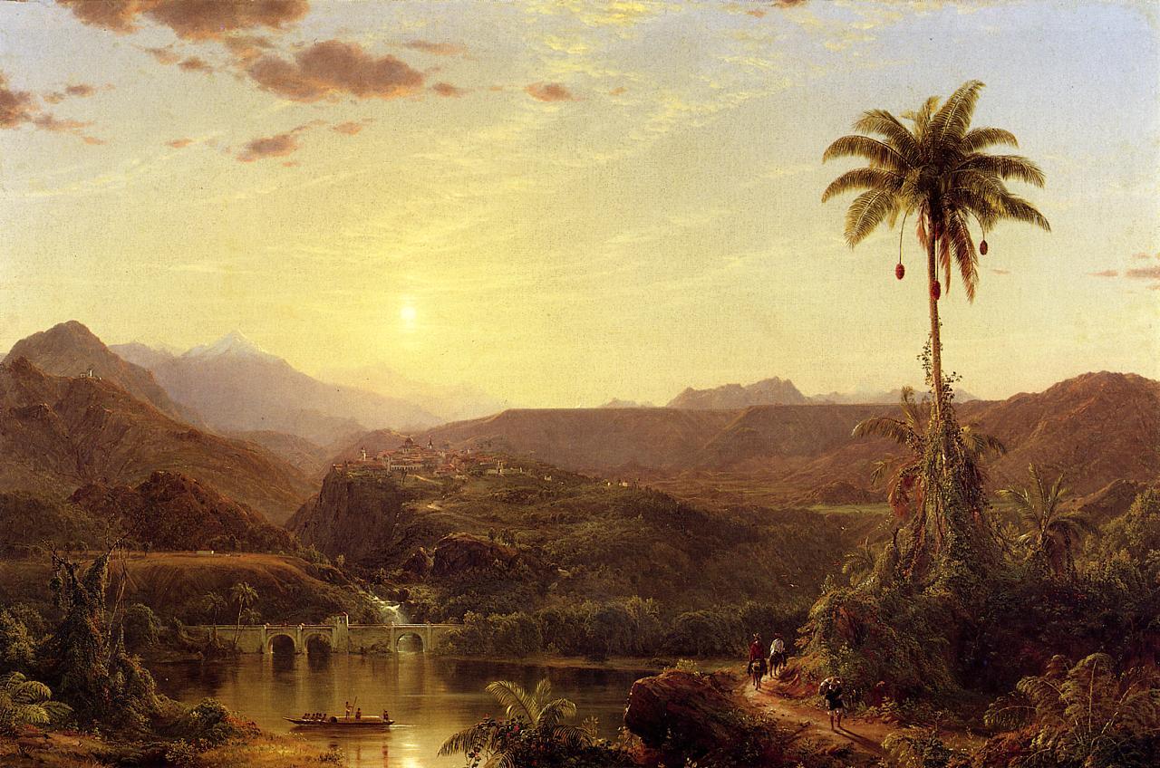 The Cordilleras Sunrise 1854 | Frederic Edwin Church | Oil Painting
