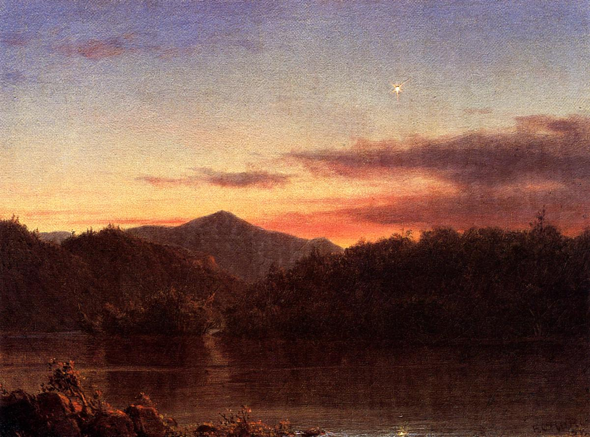 The Evening Star 1859 | Frederic Edwin Church | Oil Painting