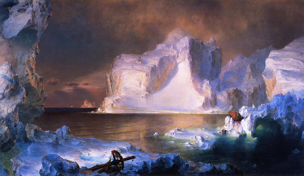 The Iceburgs 1861 | Frederic Edwin Church | Oil Painting