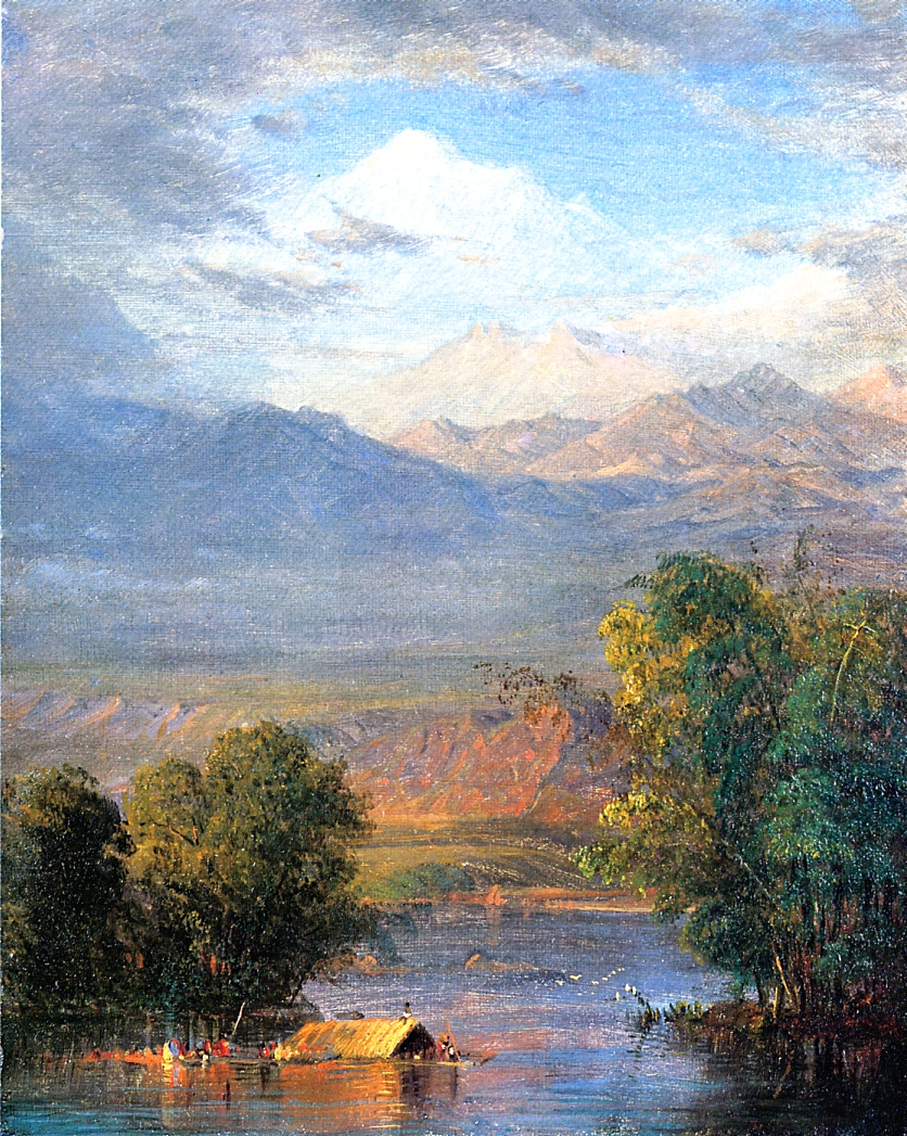 The Magdalena River Equador | Frederic Edwin Church | Oil Painting