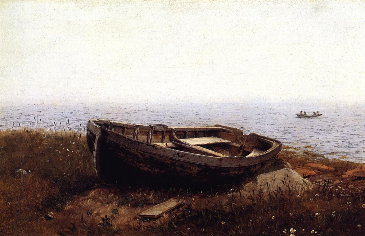The Old Boat 1850 | Frederic Edwin Church | Oil Painting
