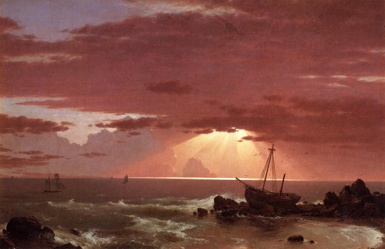 The Wreck 1852 | Frederic Edwin Church | Oil Painting
