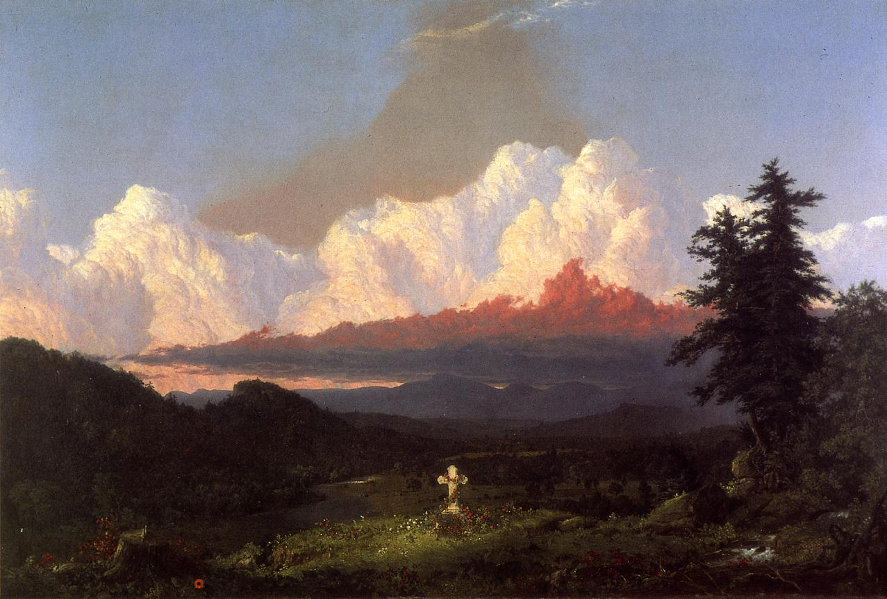 To the Memory of Cole 1848 | Frederic Edwin Church | Oil Painting