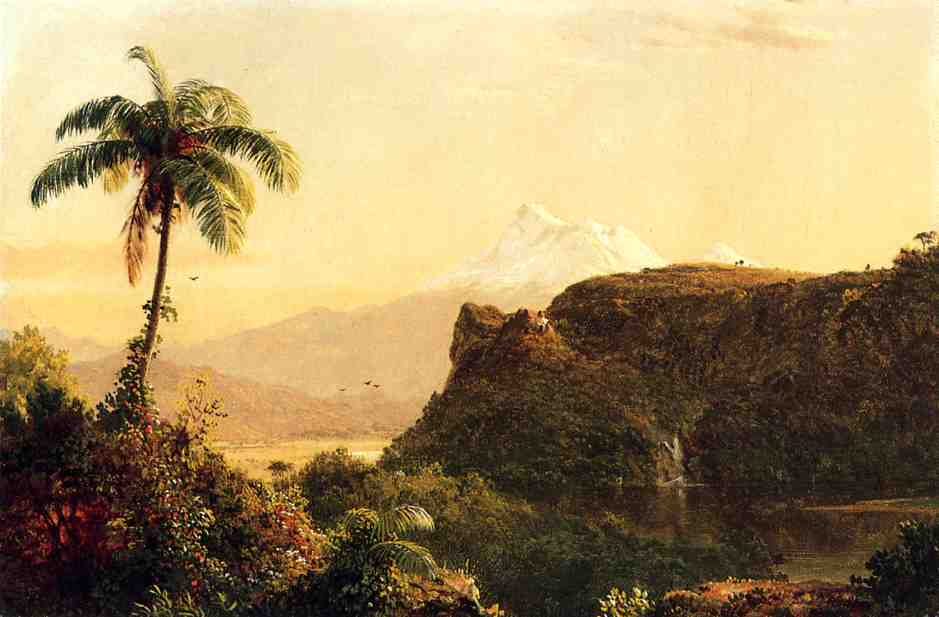 Tropical Landscape 1856 | Frederic Edwin Church | Oil Painting