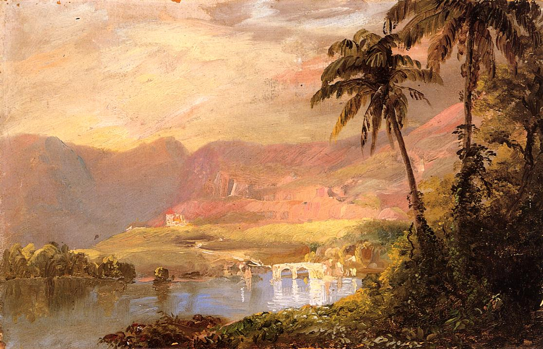 Tropical Landscape 1873 | Frederic Edwin Church | Oil Painting