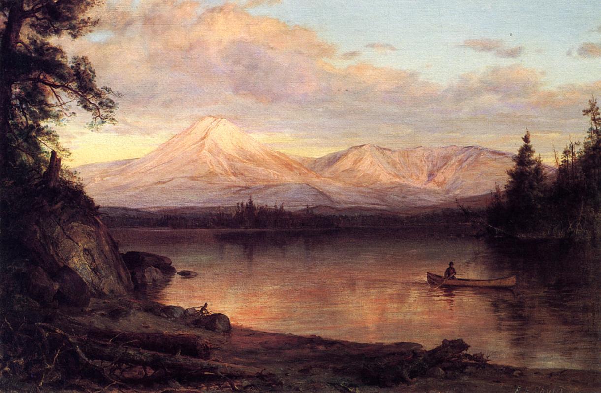 View of Mount Katahdin 1878 | Frederic Edwin Church | Oil Painting