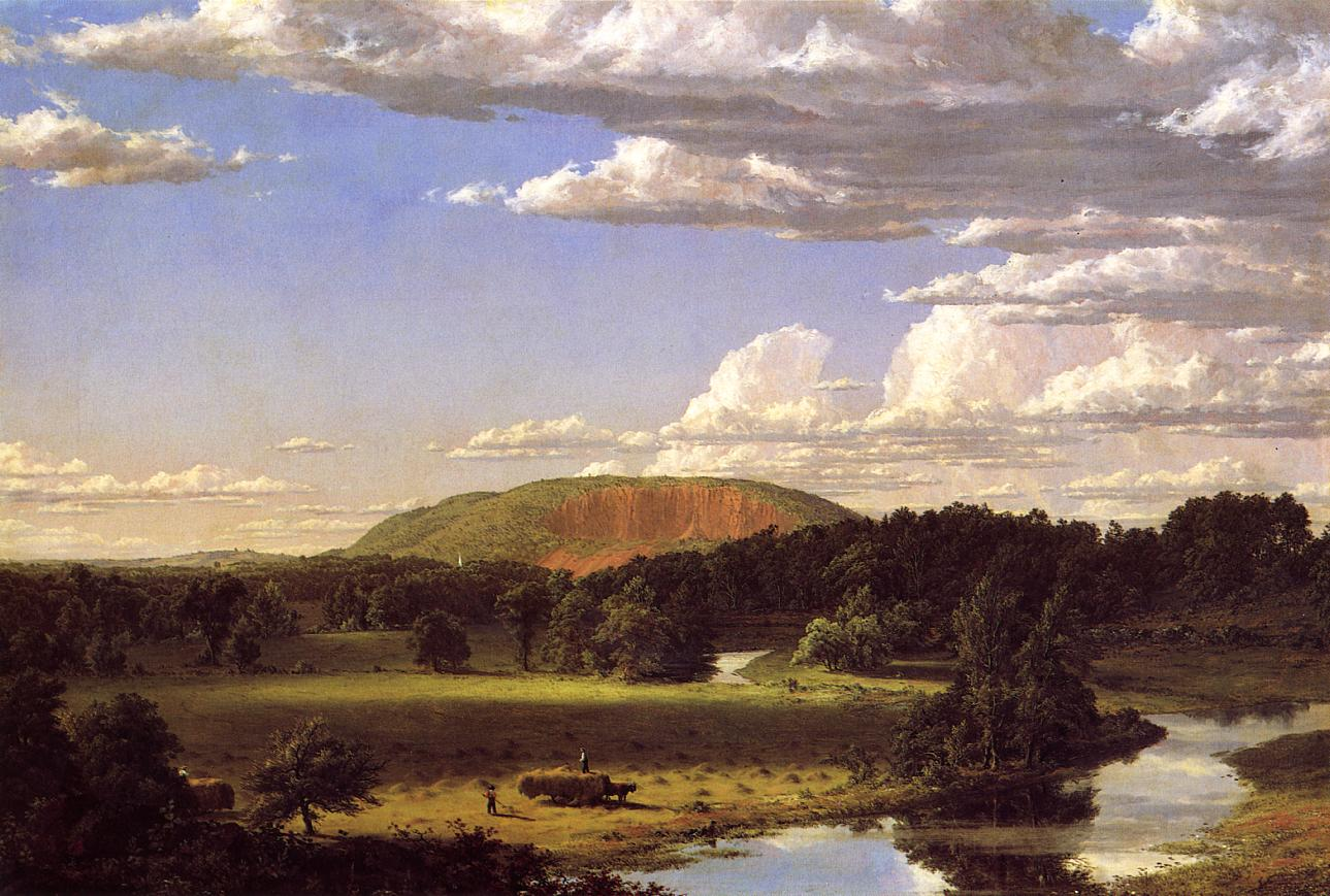West Rock New Haven 1849 | Frederic Edwin Church | Oil Painting