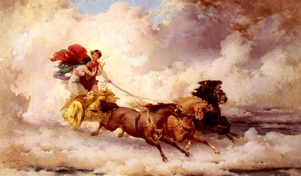 Apollon Enlevant Cyrene | Frederick Arthur Bridgman | Oil Painting