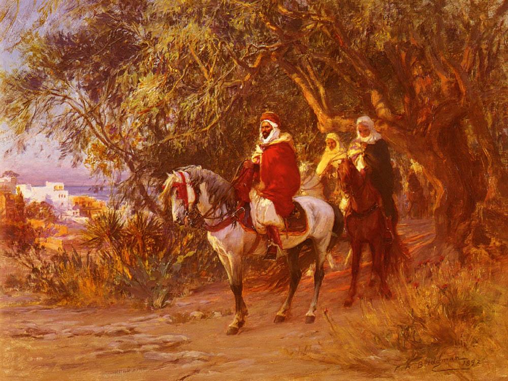 The Return | Frederick Arthur Bridgman | Oil Painting
