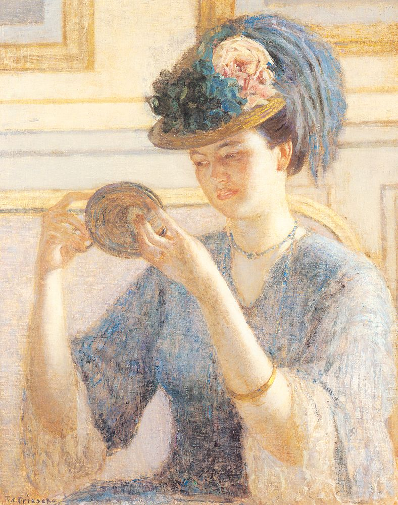 Reflections 1908 | Frederick Carl Frieseke | Oil Painting