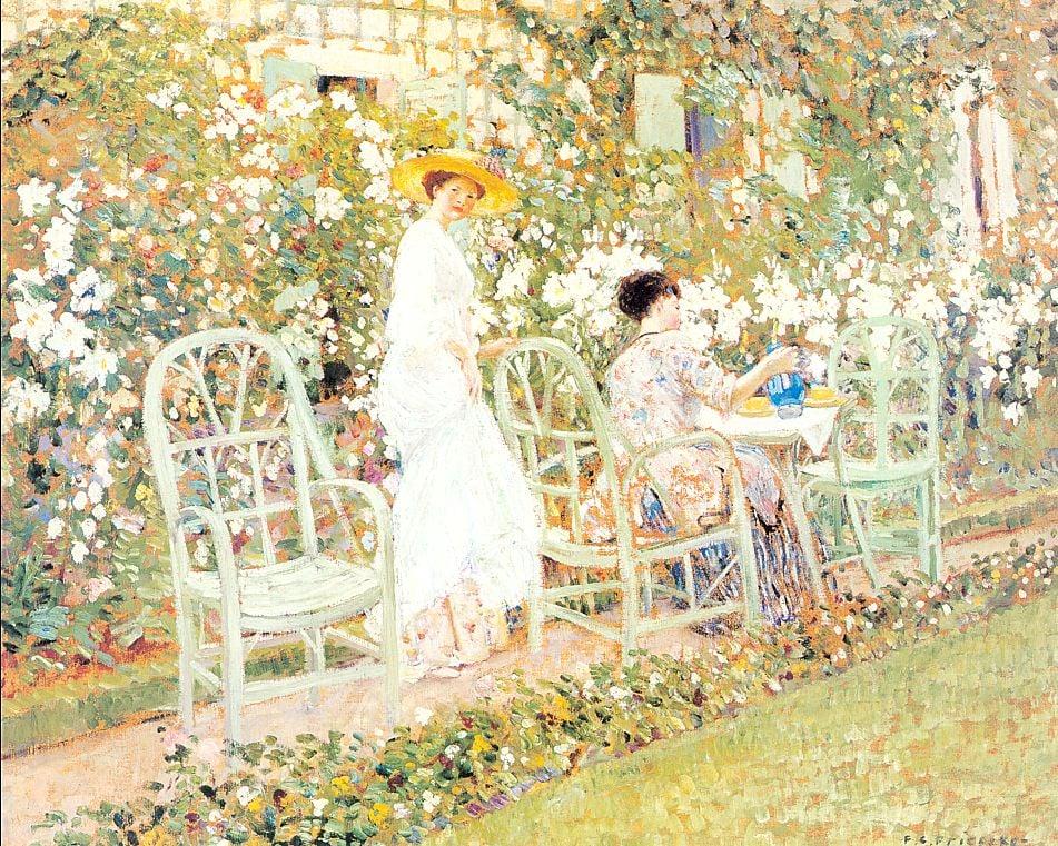Lilies 1911 | Frederick Carl Frieseke | Oil Painting