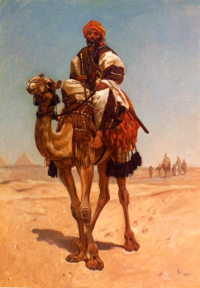 An Egyptian Nomad | Frederick Goodall | Oil Painting