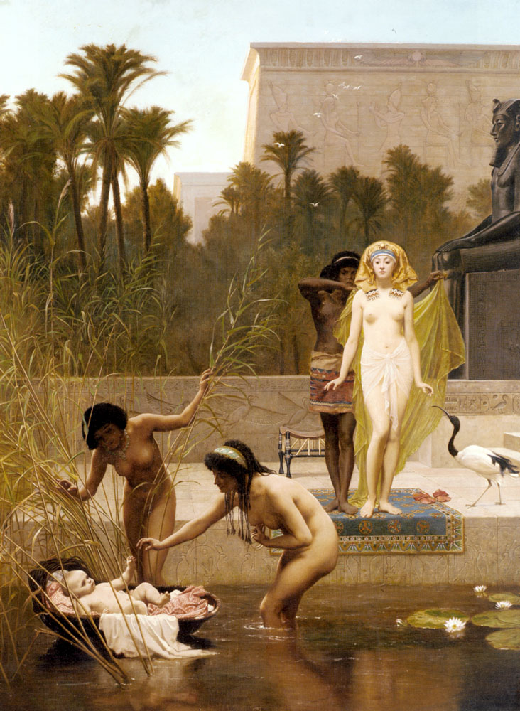 The Finding Of Moses | Frederick Goodall | Oil Painting