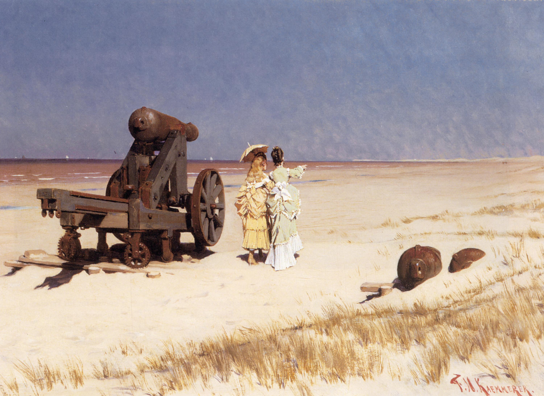 At the Seashore | Frederick Hendrik Kaemmerer | Oil Painting