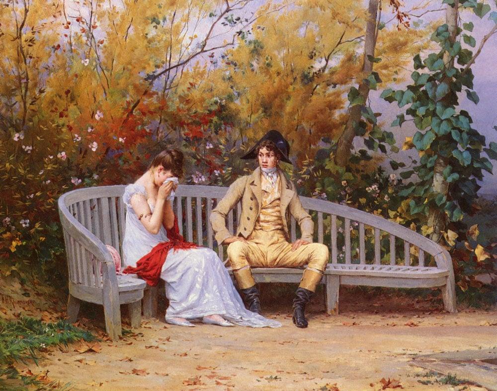 Le Dispute | Frederick Hendrik Kaemmerer | Oil Painting