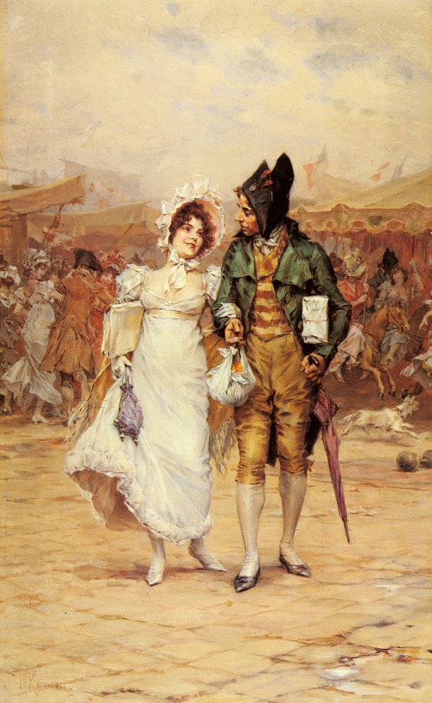 A Day At The Carnival | Frederick Hendrik Kaemmerer | Oil Painting
