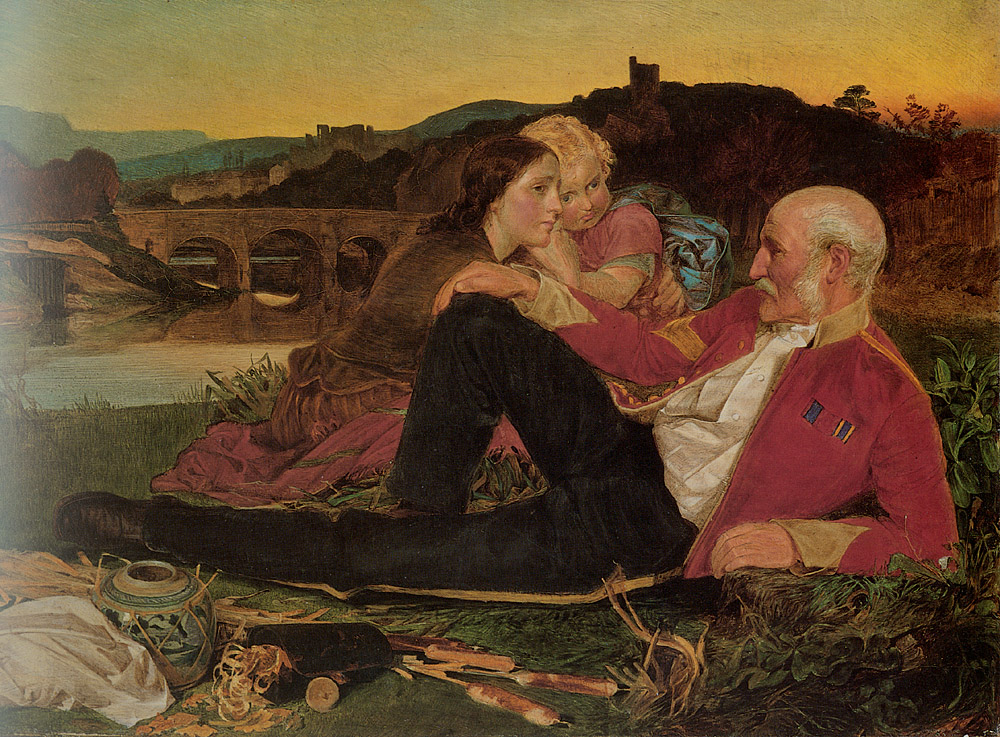 Autumn | Frederick Sandys | Oil Painting