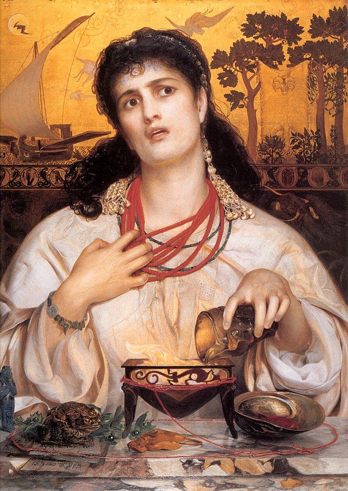 Medea | Frederick Sandys | Oil Painting