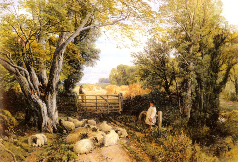 Landscape In Wales | Frederick William Hulme | Oil Painting