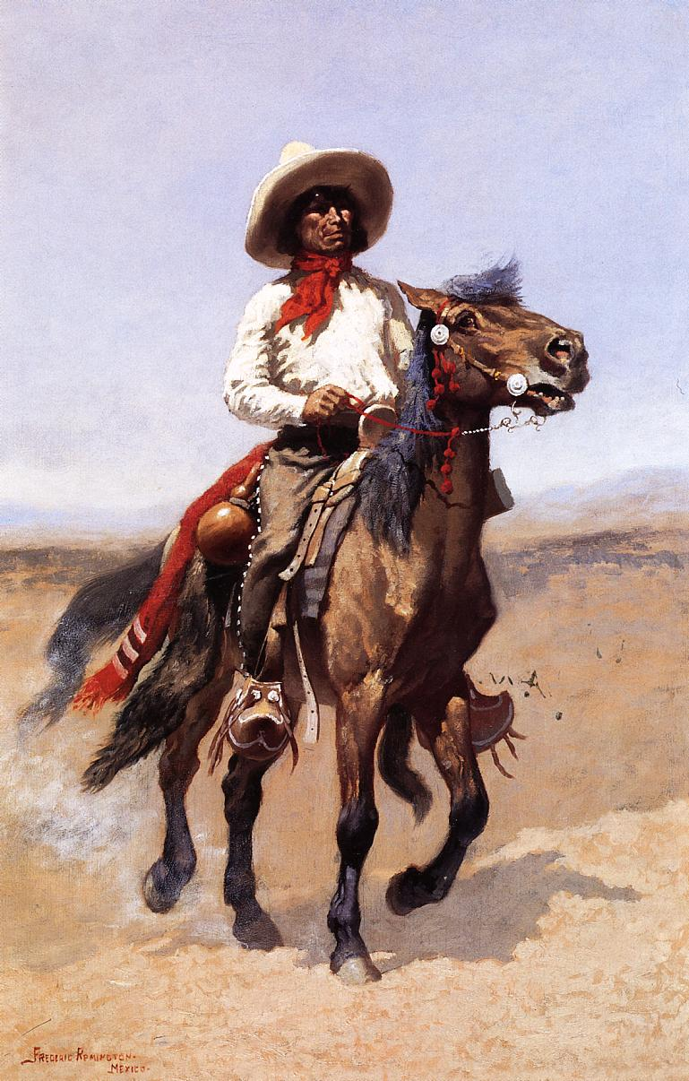 A Regimental Scout 1889 | Frederic Remington | Oil Painting