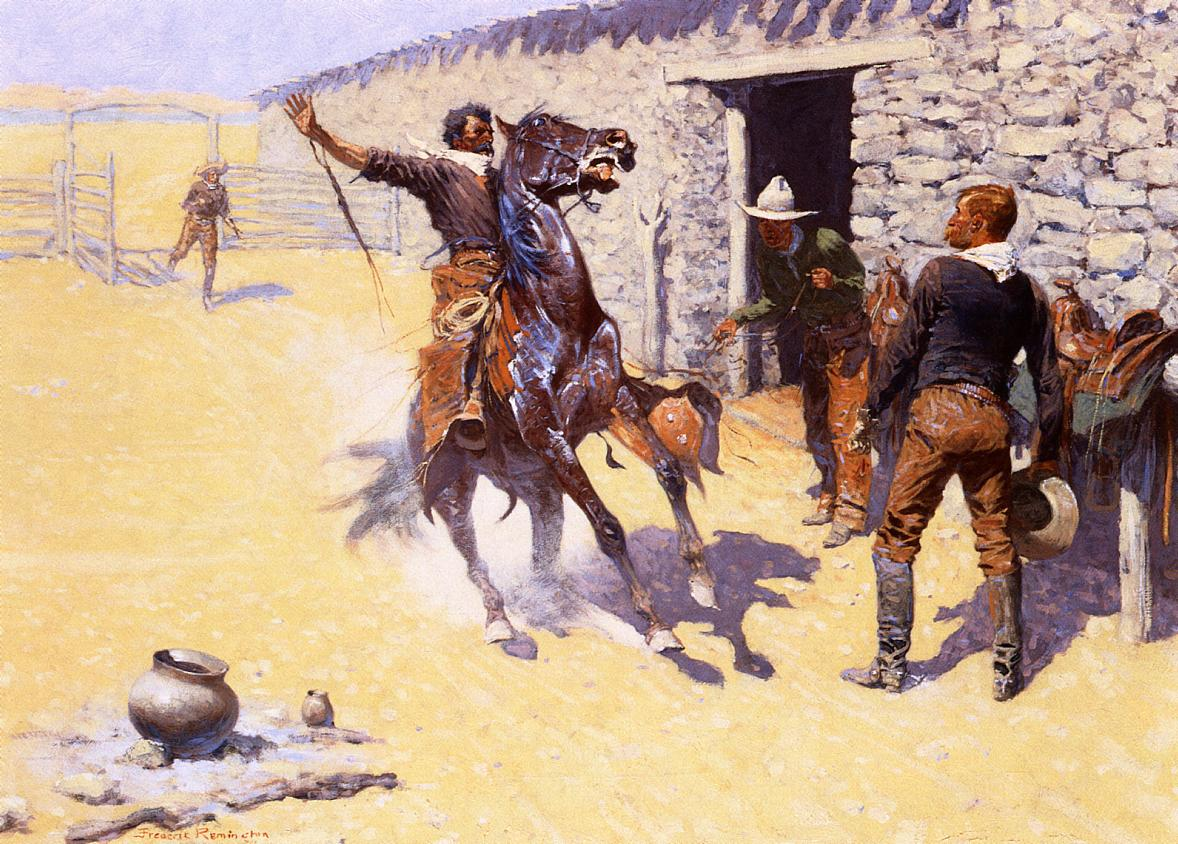The Apaches 1904 | Frederic Remington | Oil Painting