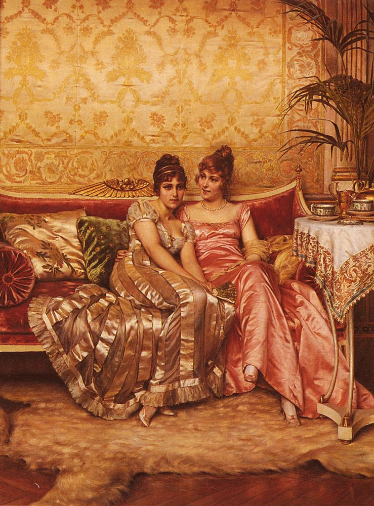 Confidences | Frederic Soulacroix | Oil Painting