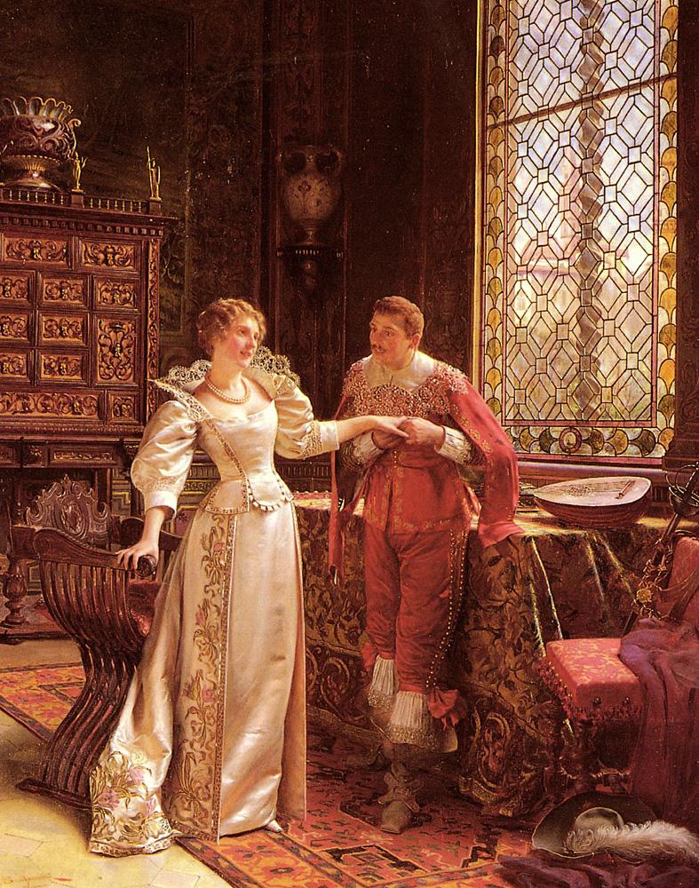 La Demande En Mariage | Frederic Soulacroix | Oil Painting