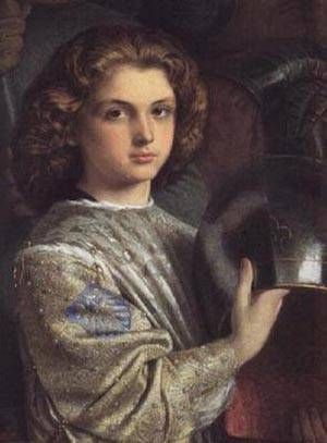 The Knights Esquire | Frederic William Burton | Oil Painting