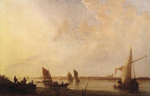 Dordrecht Sunrise 1650 | Aelbert Cuyp | Oil Painting