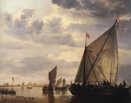 River Scene | Aelbert Cuyp | Oil Painting