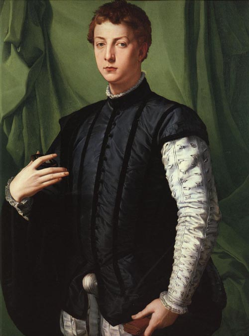 Lodovico Capponi 1550-1555 | Agnolo Bronzino | Oil Painting