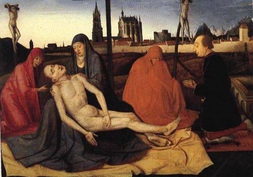 Pieta | Circle Of Konrad Witz | Oil Painting