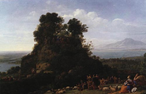 The Sermon on the Mount 1656 | Claude Lorrain | Oil Painting