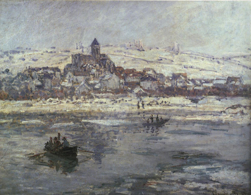 Vetheuil in Winter 1878-1879   Claude Oscar Monet   Oil Painting