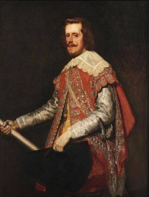 King Philip IV of S 1644 | Diego Rodriguez De Silva Y Velazquez | Oil Painting